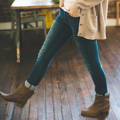 Blå jeans dam
