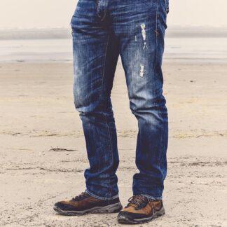 Blå jeans herr