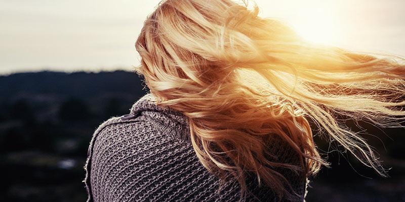 Kvinna hår